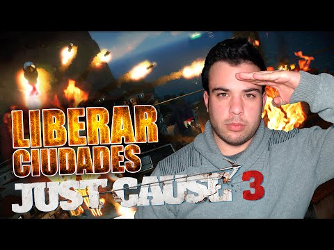 JUST CAUSE 3 | LIBERAR CIUDADES DE DI RAVELLO | Gameplay Español