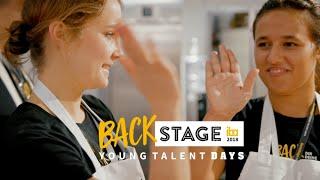 BackStage - Young Talent Days 2018 auf der iba