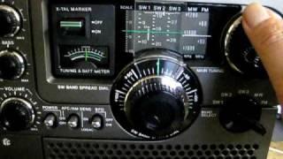 往年のBCLラジオ SONY ICF-5900 (Sky sensor 5900 ソニー スカイセンサ...