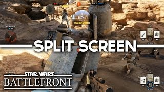 Star Wars Battlefront  - Split-Screen CO-OP Mode (2 Players Cooperative Mission)