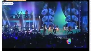 Jencarlos Canela presentando I love it en Premios Juventud 2013