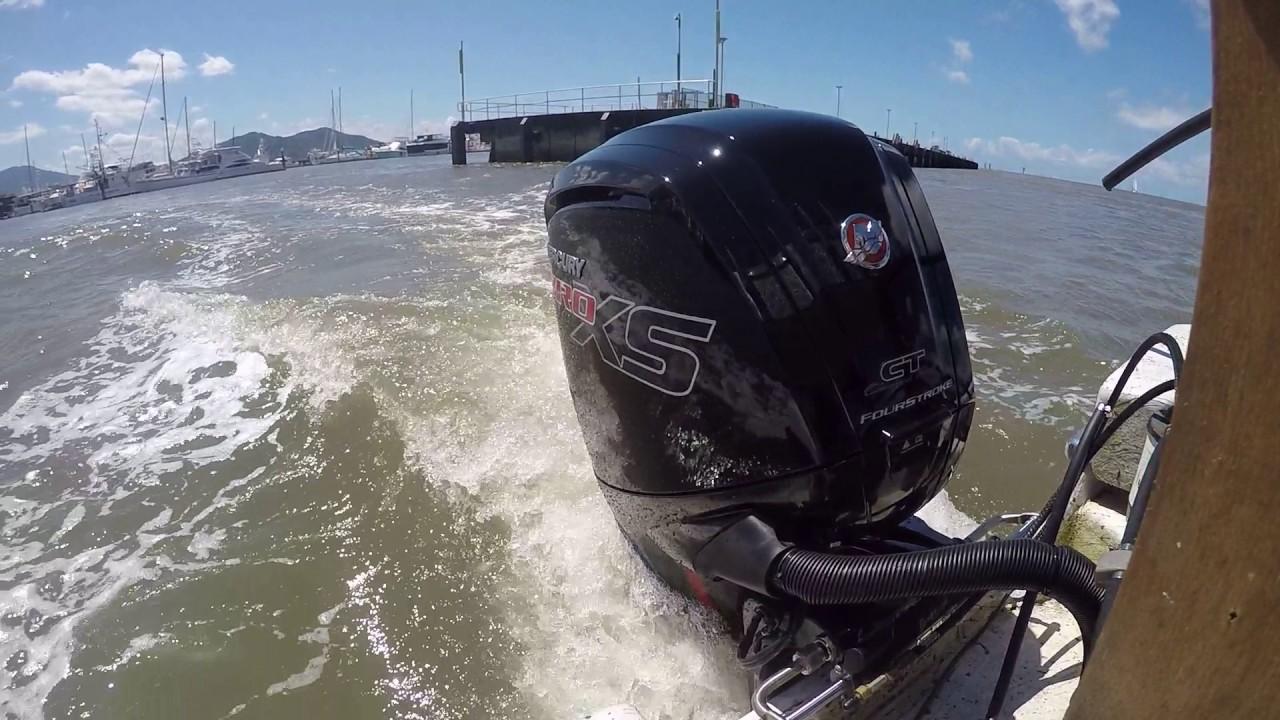 Mercury 115 Pro XS water test