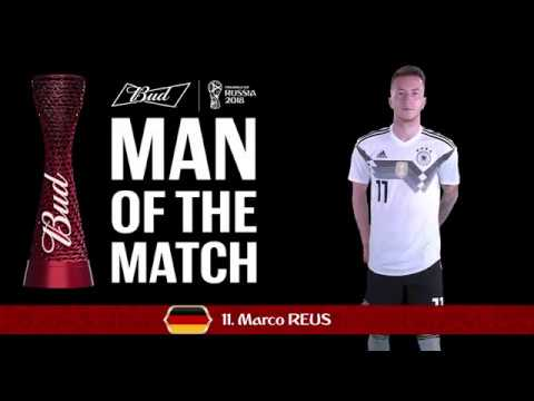 Marco REUS (Germany) - Man of the Match - MATCH 27