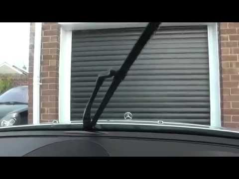 Mercedes W211 E Class Winscreen Washer Jets Not Working Problem Solution