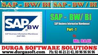 SAP BW/BI||SAP Business Information Warehouse(SAP-BW/BI) Part - 1 by Raju