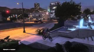 GTA 5 (ps4) bmx montage  
