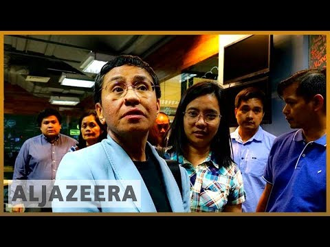 🇵🇭 Philippines: Rappler journalist Maria Ressa arrested for libel | Al Jazera English Mp3