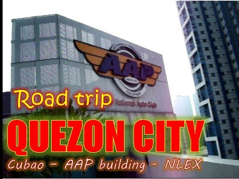 TRAVELLING AS IT IS! Road trip to Quezon City From Cubao to AAP Building to NLEX