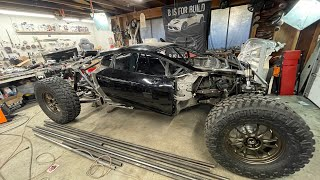 Off-Road Lamborghini Huracan gets Shocks Installed and Weighed!