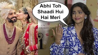 Sonam Kapoor Funny Reaction On Marriage Experience With Anand Ahuja