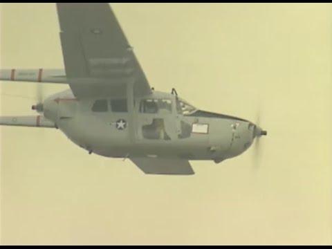 "Cessna O2 Skymaster ""The Duck"" and the Douglas A-1 Skyraider"