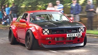 Gambar cover Performance Cars Leaving a Car Show - August 2019