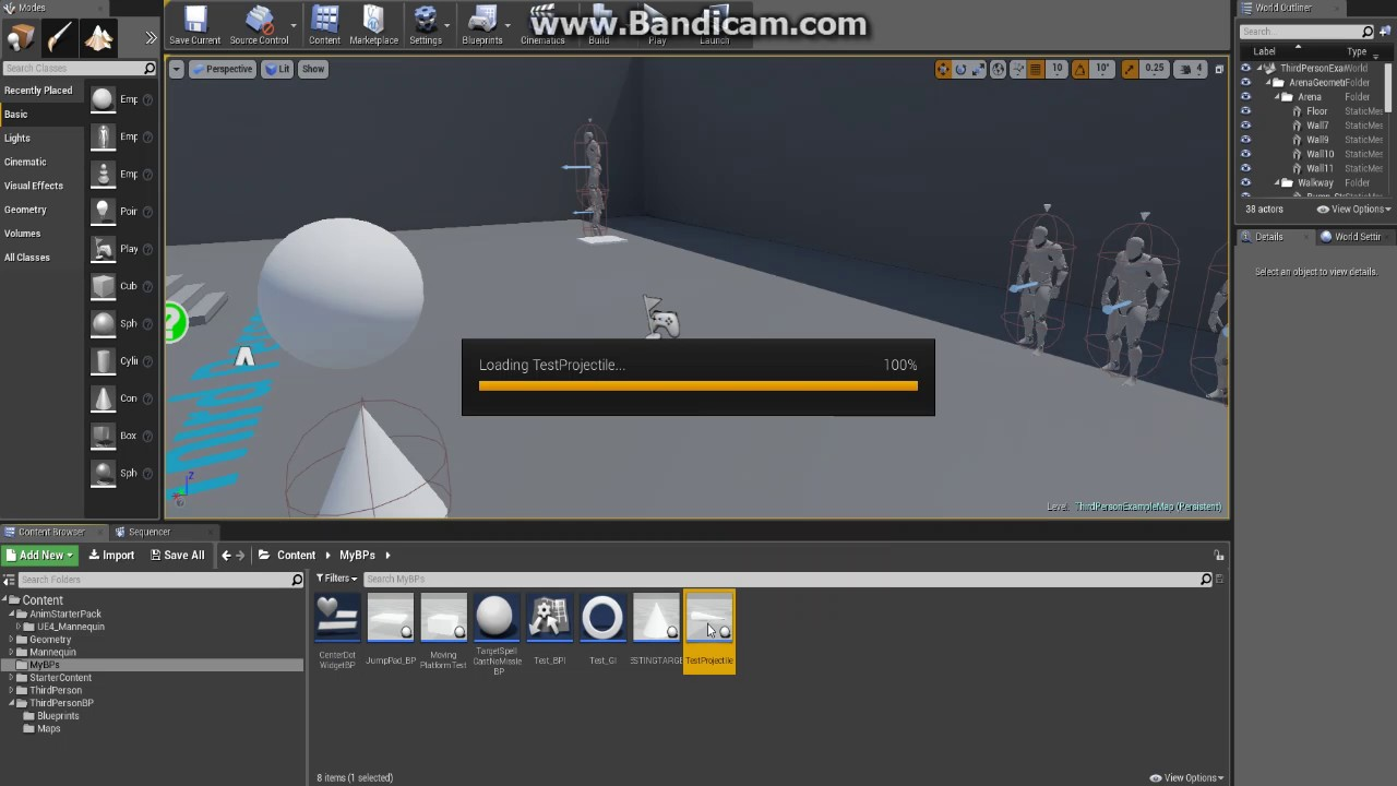 UE4 Tutorial: MMO style homing spell projectile
