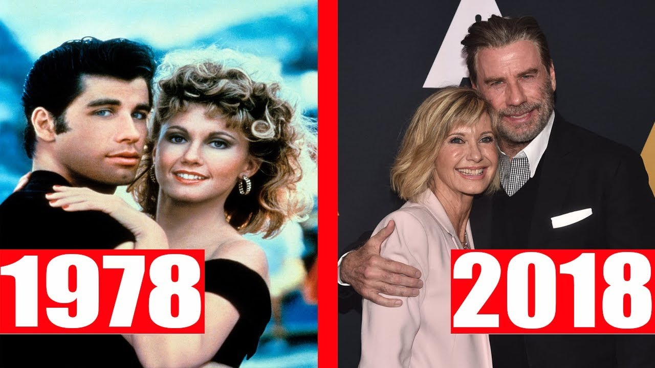 Grease 1978 Cast Then And Now Youtube