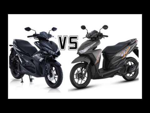 Yamaha Mio Aerox Vs Honda Click I