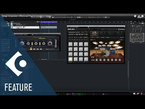 Vintage Compressor   Effects and Plug-ins Included in Cubase