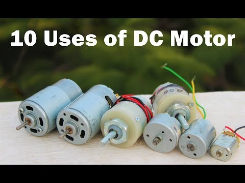 10 Useful Things From DC Motor - DIY Electronic Hobby