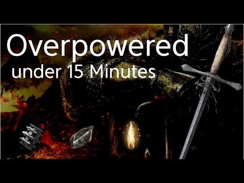 Dark Souls 2 SotFS Build - Overpowered in 15 minutes