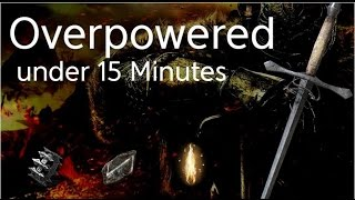 Dark Souls 2 SotFS Build - Overpowered in 15 minutes