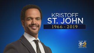 Y&R Star, Actor Kristoff St. John Dies At Age 52