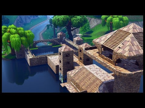 Fortnite save the world how to build a castle