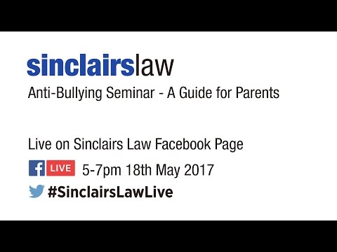 Anti Bullying - A seminar for Children ,Parents and Schools