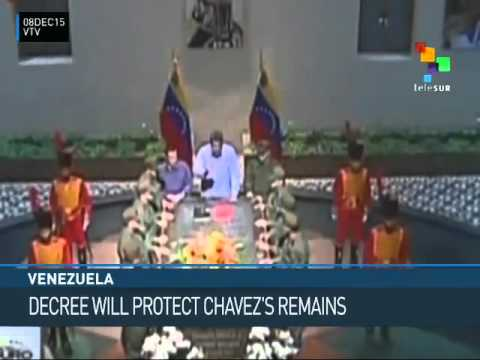 Venezuela: Decree Will Protect the Remains of Hugo Chavez