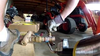 Pellet Boiler Installation Plumbing Day 1 - 109 - My Diy Garage Build Hd Time Lapse