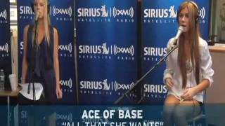 Ace of Base - All That She Wants (Sirius Radio Session).avi