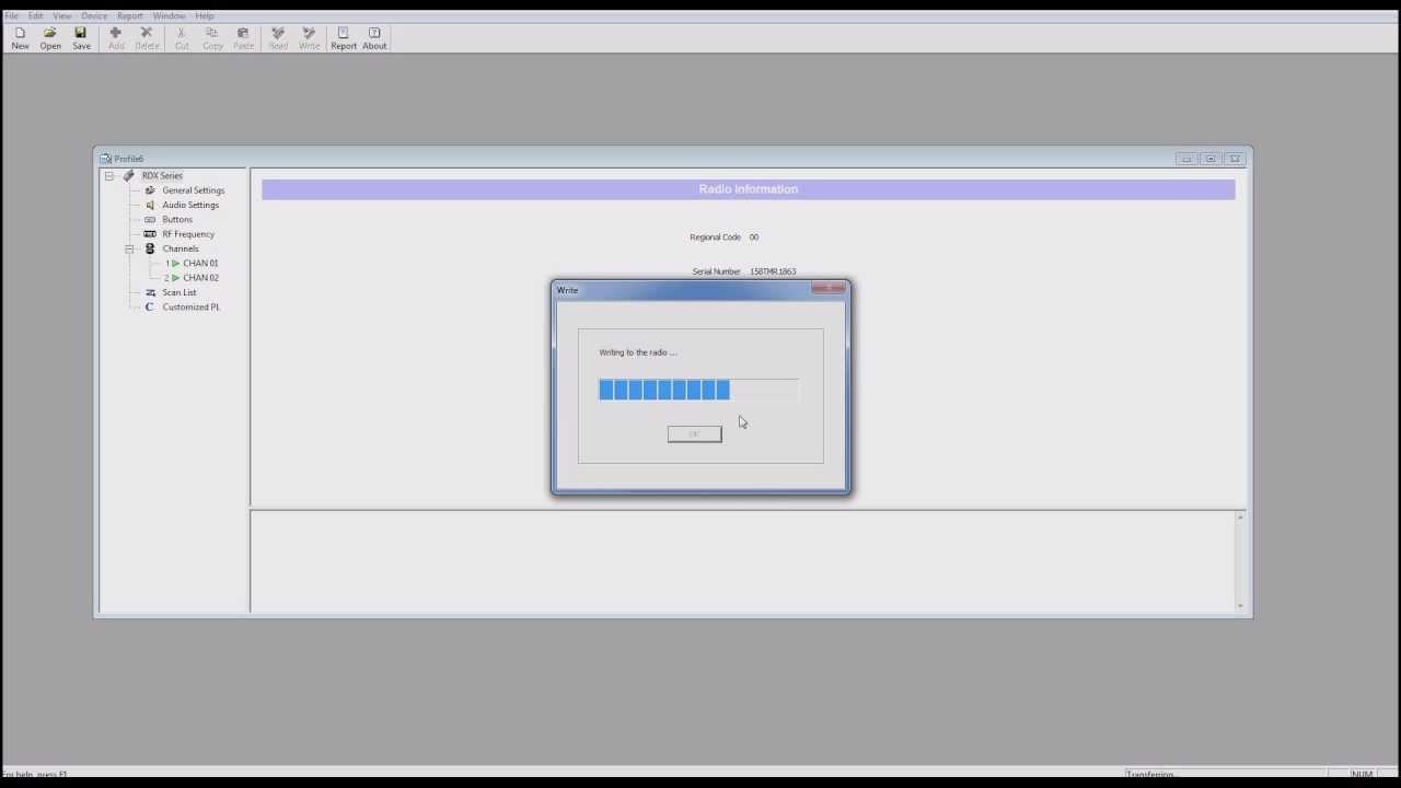 Motorola RDX Programming Tutorial