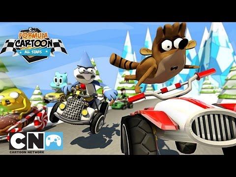 Formula Cartoon All Stars Winter Edition | Mobile App | Cartoon Network