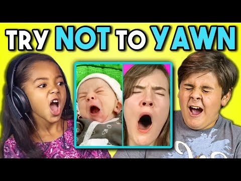 Thumbnail: KIDS REACT TO TRY TO WATCH THIS WITHOUT YAWNING CHALLENGE