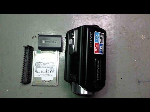 Sony dcr sr21e HDD Format Error