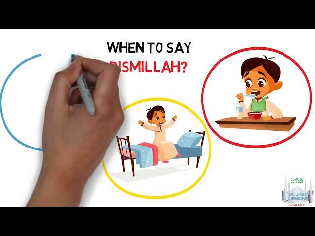 Always say Bismillah - Kids