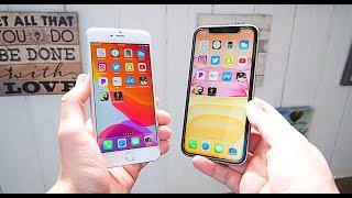 iPhone 6S Plus vs iPhone 11 Speed Test!