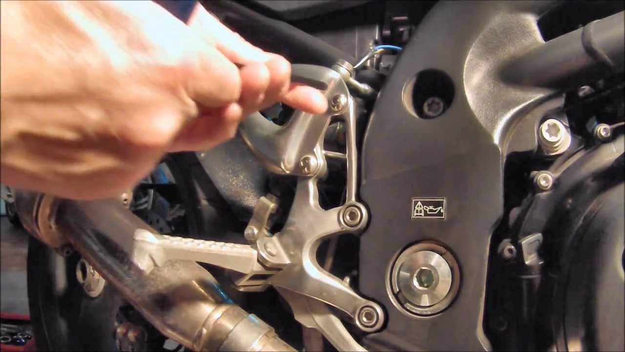 Replace Motorcycle's Rear Brake Light Switch  YouTube