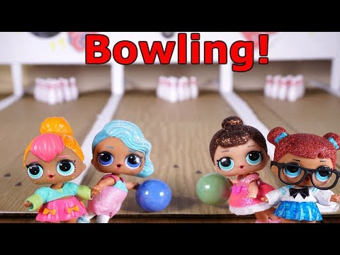 LOL SURPRISE DOLLS Go Bowling!