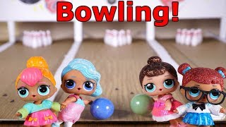 LOL SURPRISE DOLLS Go Bowling!