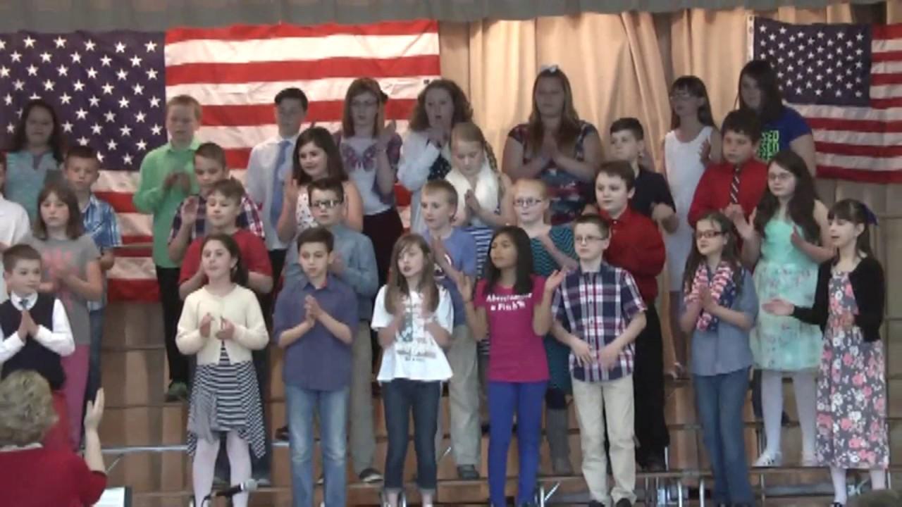 Rouses Point Elementary Spring Program  4-25-17