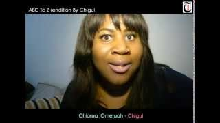 LAUGH YOURSELF OUT with Chigul39s rendition of the alphabets and meanings