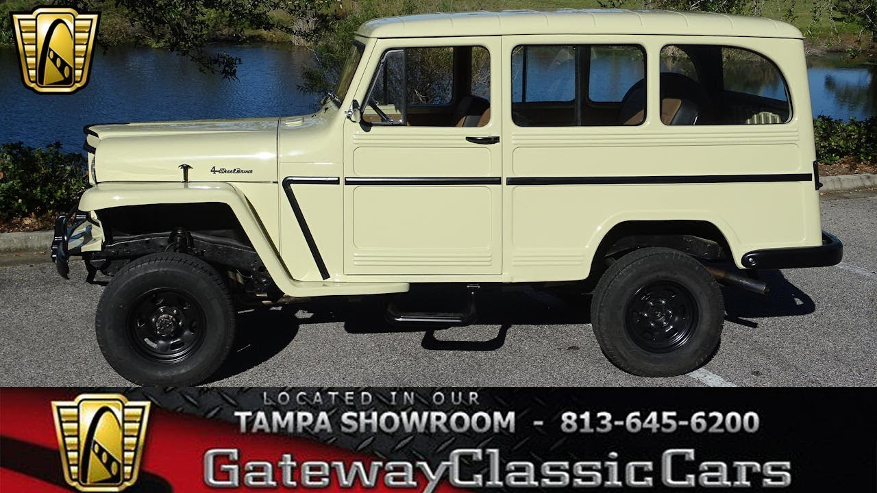 1953 willys pick up wiring schematic 1035 tpa 1961 willys wagon 22r 4 cylinder 5 speed manual youtube  1035 tpa 1961 willys wagon 22r 4