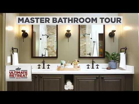 Diy Network Ultimate Retreat 2018 Master Bathroom Tour Youtube