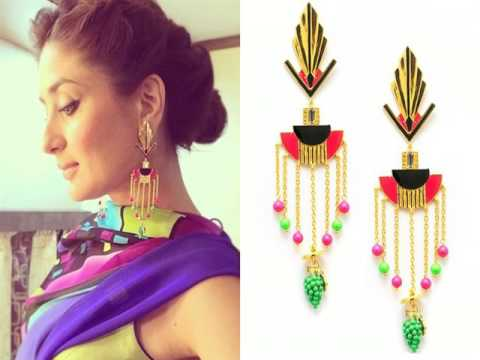 Designer fashion jewelry    Bollywood actress spotting at India