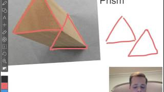 Drawing Triangular Prism