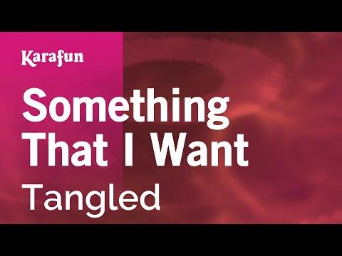 Karaoke Something That I Want - Tangled *