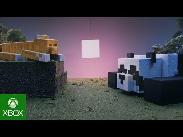 Minecraft's newest Bedrock update adds bamboo, scaffolding