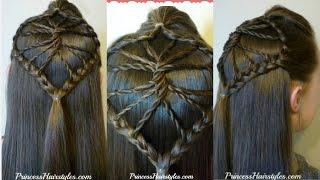 Cute Braided Hairstyle! The Twisted Wheel Hair Tutorial