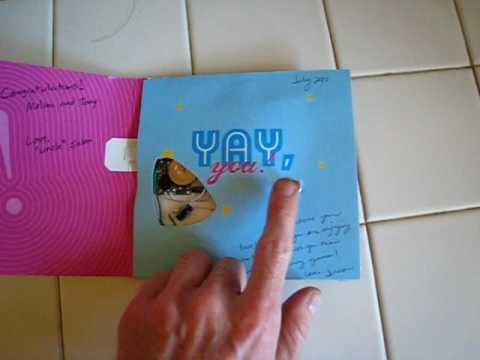 Molina's circuit bent musical greeting card