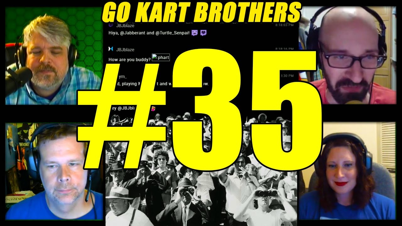 Go Kart Brothers 35: Coming In The Air Tonight (The World of
