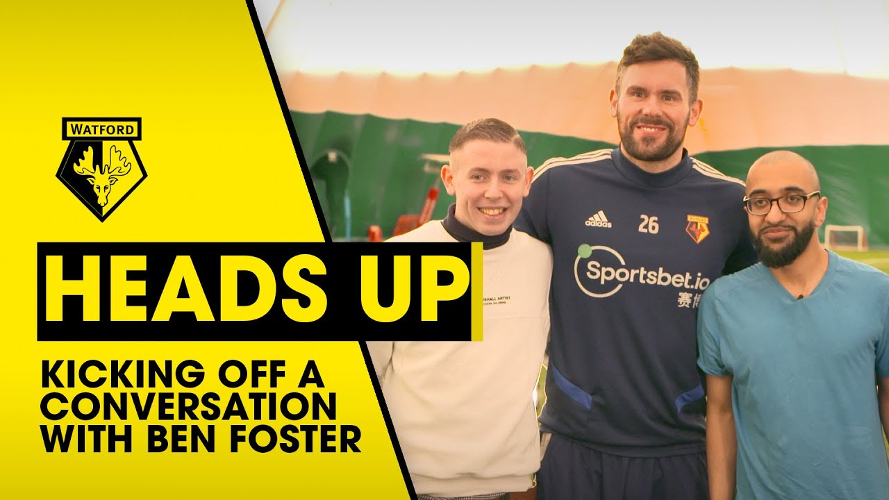 Ben Foster Joins Man On! Participants  To Discuss Mental health
